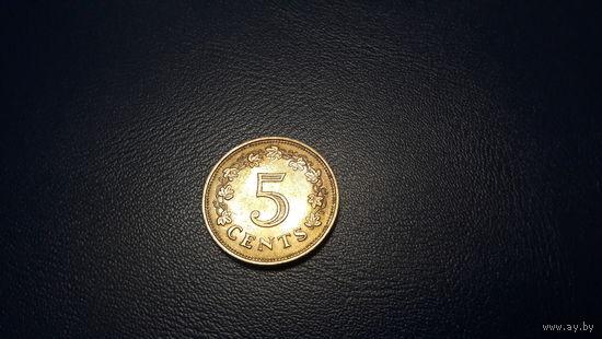 Мальта - 5 центов 1972_km#10 – СОСТОЯНИЕ