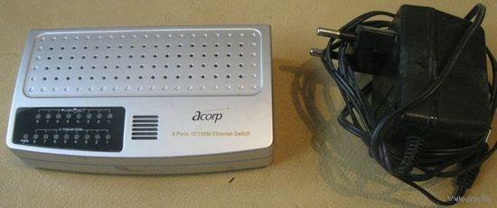 Коммутатор Acorp HU8DP (Ver 2.0) свич