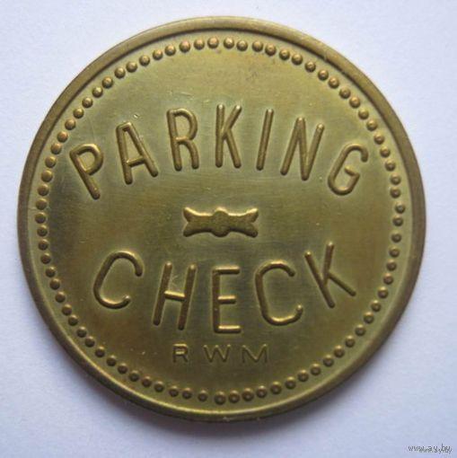 Парковочный жетон.