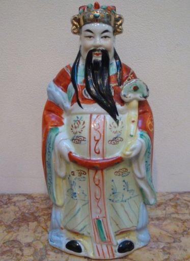 Статуэтка фарфоровая Китайский мудрец (Китаец)