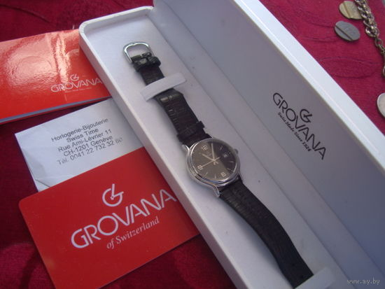 Часы CROVANA,Swiss Made,как новые,полный комплект!