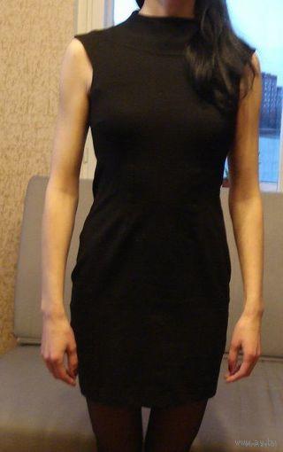 Платье ZARA BASIS черное