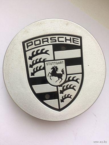 Porsche Panamera Заглушка литого диска Silver, оригинал