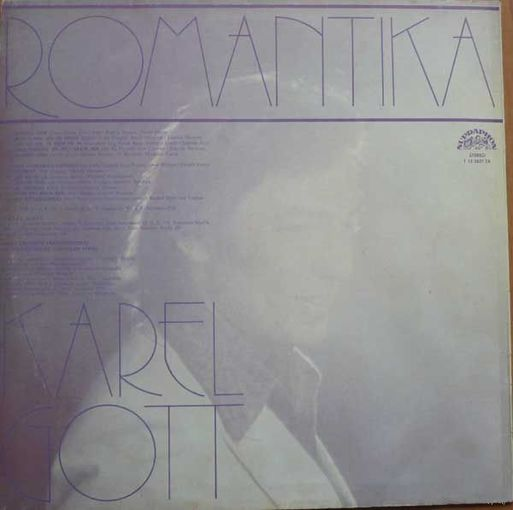 Karel Gott  -  Romantika - LP - 78
