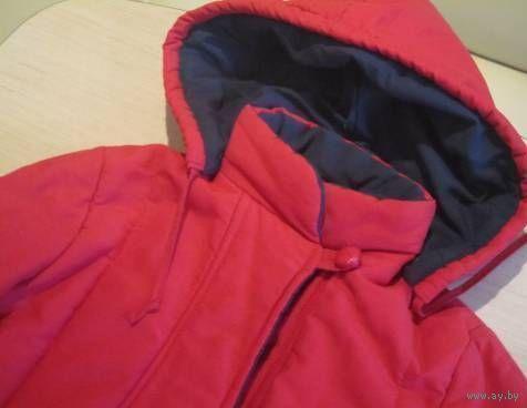 "Фирменное пальто ""Dacron Fiberfill"" 9-10 лет"