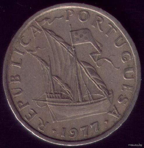 5 Эскудо 1977 год Португалия