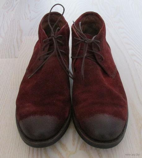 Оригинальные замшевые ботинки BELMONDO, 44-45р., 30,5см.
