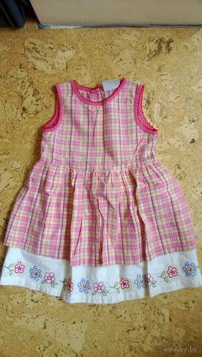 Платье летнее Topolino, сарафан для девочки 3-4 лет