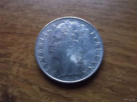 Италия 100 лир 1968
