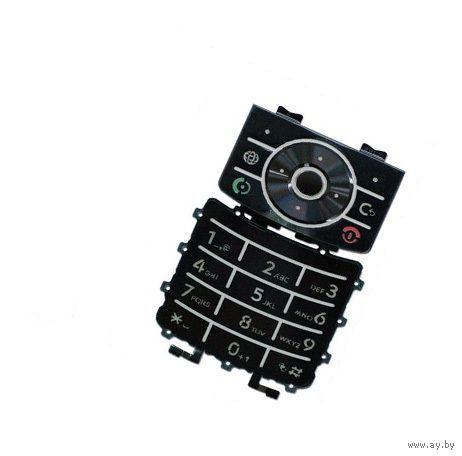 Клавиатура для Motorola Z6 черная
