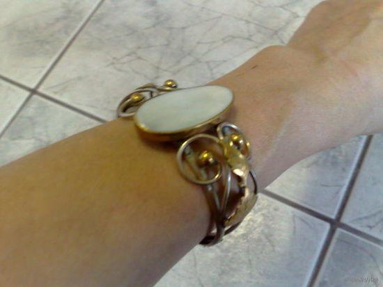 Старинный браслет. Не серебро.