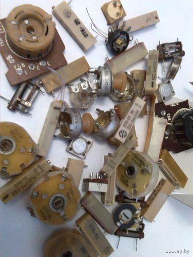 Резистор подстроечные проволочные СП5