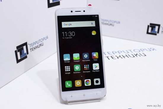 """Золотистый 5"""" Xiaomi Redmi 4X 16GB (8 ядер, Android 7, 2 SIM). Гарантия"""