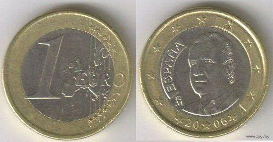 Испания. 1 евро (2006)