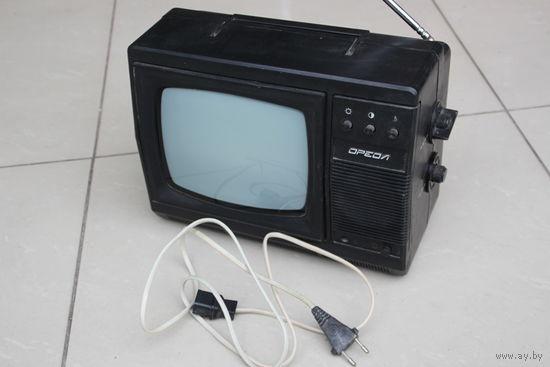 Телевизор черно-белый ОРЕОЛ 23ТБ-307Д