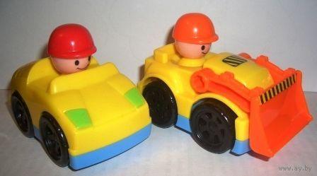 Машинки с фигурками