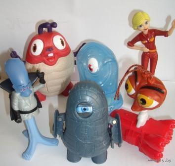 """Игрушки из м/ф """"Монстры против пришельцев"""""""