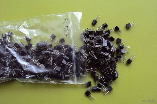 Транзисторы BC307B; BC327(25,40); BC337(25,40); BC547A,B; BC548C; BC556B; BC557B; BC558C.