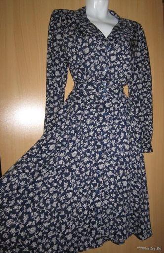 Винтажное платье-халат, р.44-46
