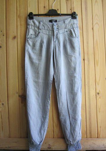 Брендовые летние джинсы Hydee, внизу на резинках, р.46