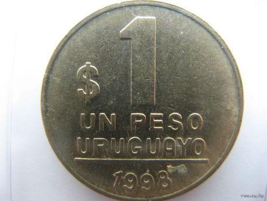 Уругвай 1 песо 1998 г.