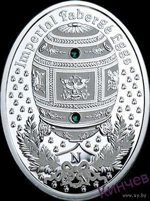 1 доллар 2013 г. Ниуэ-Яйцо Фаберже- Наполеоновское.