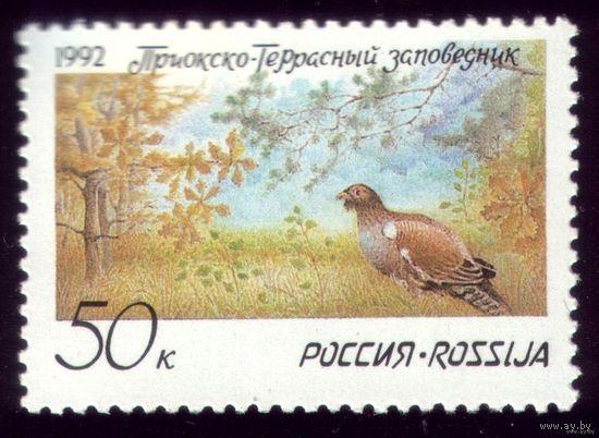 1 марка 1992 год Россия Заповедник