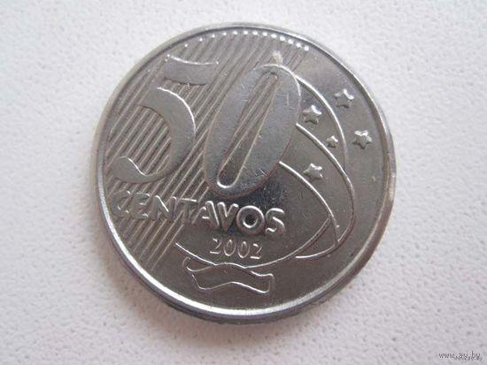 50 Центаво 2002 (Бразилия)